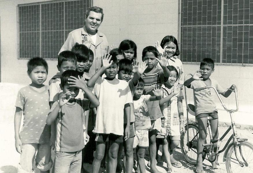 Rev. Ray Brennan opened a childrens orphanage in Pattaya City, Thailand.