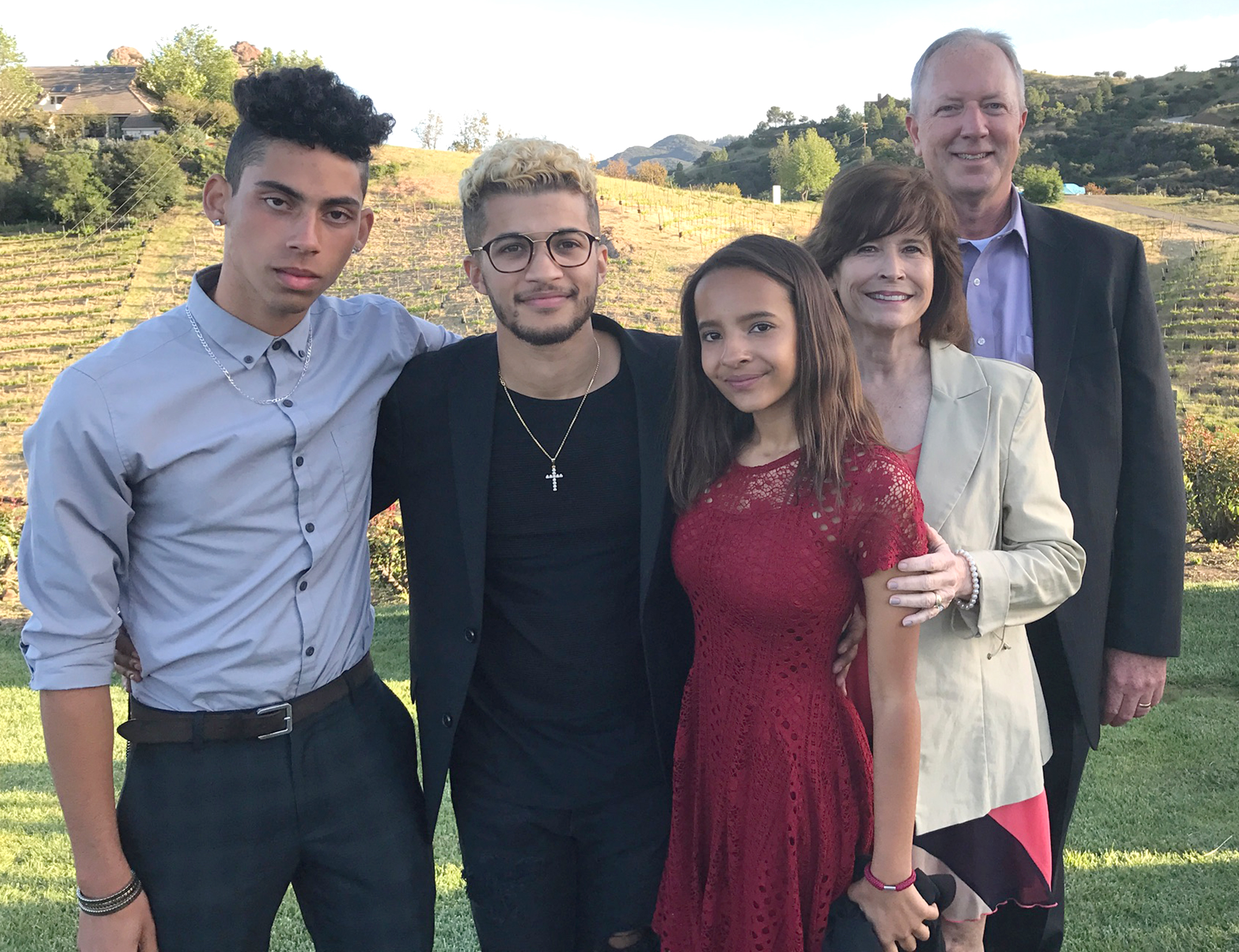 Jordan Fisher shares his adoption story