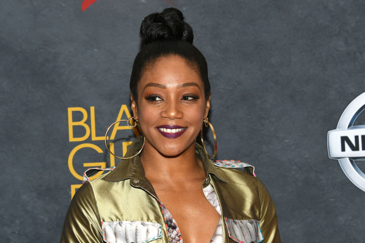 Actress and comedian Tiffany Haddish grew up in foster care.